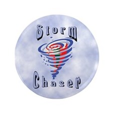 """Storm Chaser 3 3.5"""" Button"""