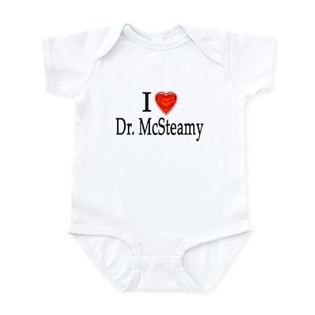 I Love Dr. McSteamy Infant Bodysuit