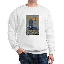 Frankfurt 1909 air show Sweatshirt