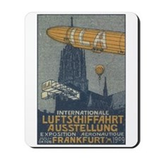 Frankfurt 1909 air show Mousepad