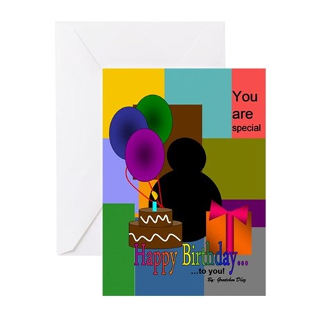 Yeast Happy B-day Greeting Cards (Pk of 20)