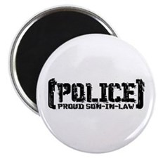 Police Proud Son-in-law Magnet