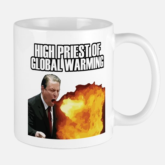High Priest of Global Warming Mug