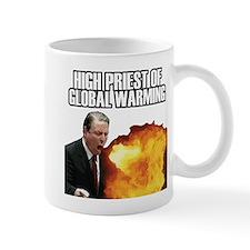 High Priest of Global Warming Small Mug