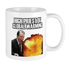 High Priest of Global Warming Small Mug