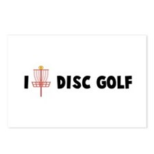 I (Heart) Disc Golf Postcards (Package of 8)