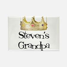Steven's Grandpa Rectangle Magnet