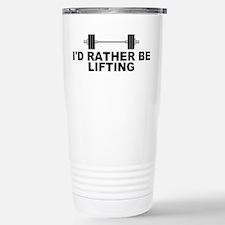 I'd Rather be Lifting Travel Mug