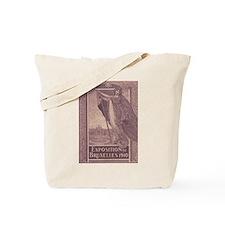 Belgium Brussels expo 1910 Tote Bag