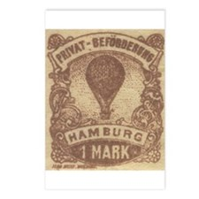 Germany Hamburg balloon mail Postcards (Package of