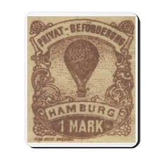 Germany Hamburg balloon mail Mousepad