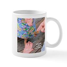 Painted Lady Hopeful Hands Regular Mug