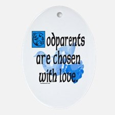 GODPARENT Oval Ornament