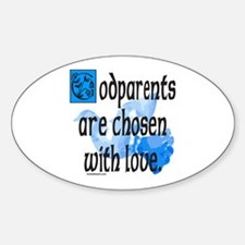 GODPARENT Oval Sticker (10 pk)