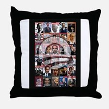 Obama Mag. Throw Pillow