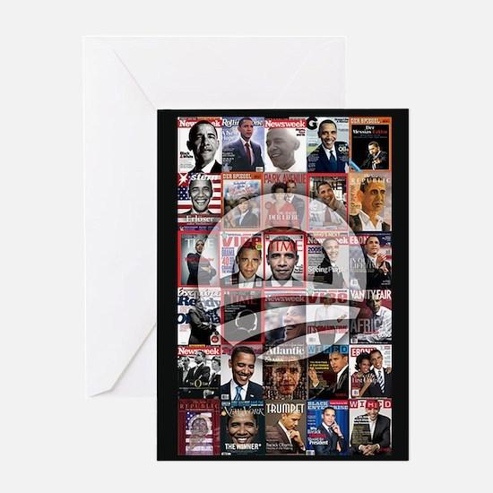 Obama Mag. Greeting Card