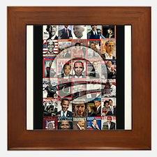 Obama Mag. Framed Tile