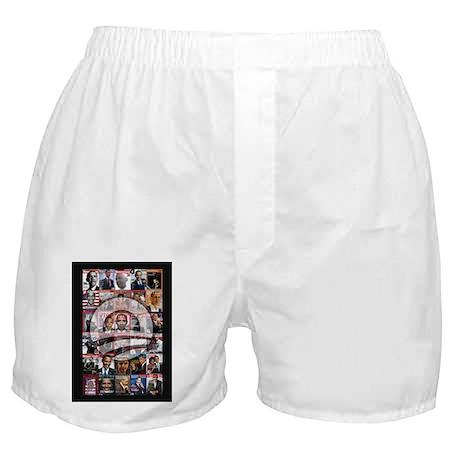 Obama Mag. Boxer Shorts