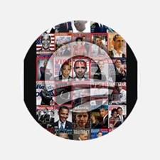 """Obama Mag. 3.5"""" Button (100 pack)"""