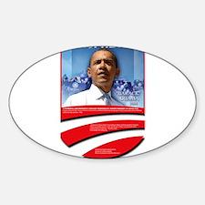 Robert Kennedy Obama Predicti Oval Decal