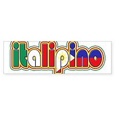 ItaliPino Bumper Car Sticker