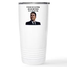 Reagan 4 Wars Thermos Mug