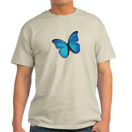 Blue Morpho Butterfly Light T-Shirt