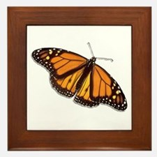 The Monarch Butterfly Framed Tile