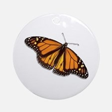 The Monarch Butterfly Ornament (Round)