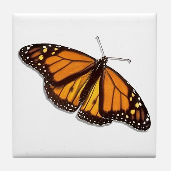The Monarch Butterfly Tile Coaster
