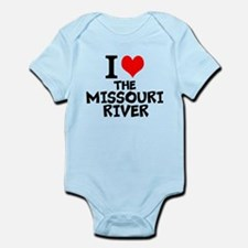 I Love The Missouri River Body Suit