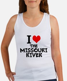 I Love The Missouri River Tank Top