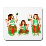 Christmas Fairies Mousepad