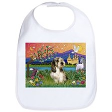 PBGV in Fantasy Land Bib