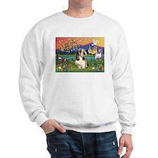 PBGV in Fantasy Land Sweatshirt