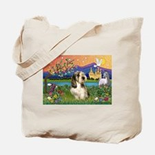 PBGV in Fantasy Land Tote Bag