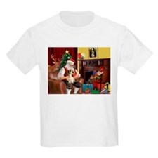 Santa's Petit Basset T-Shirt