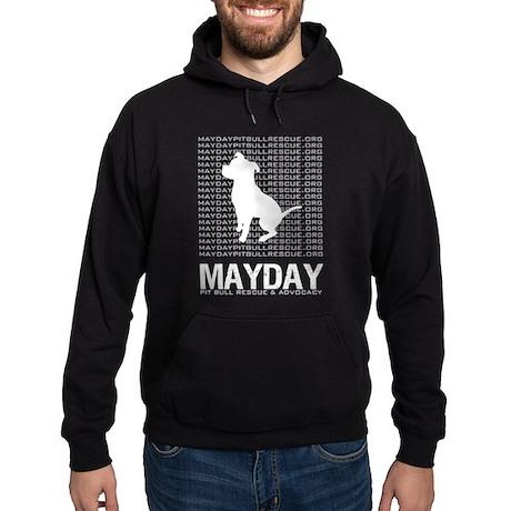 Mayday Pit Bull Rescue & Advo Hoodie (dark)