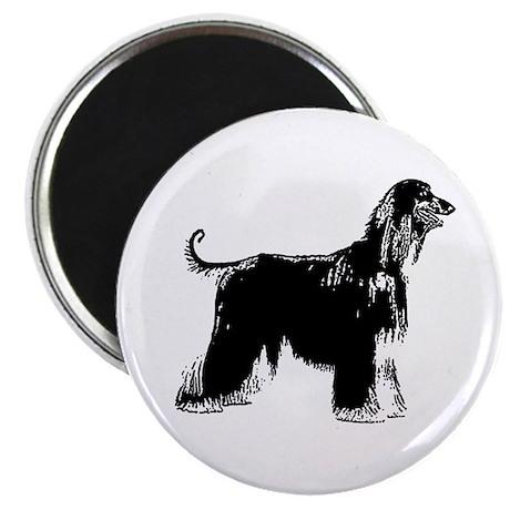 """Afghan Hound 2.25"""" Magnet (100 pack)"""