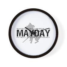 Mayday Pit Bull Rescue & Advo Wall Clock