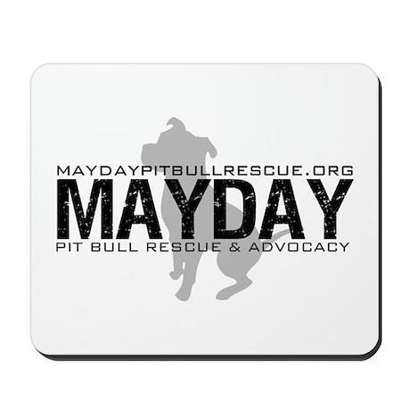 Mayday Pit Bull Rescue & Advo Mousepad