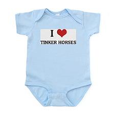 I Love Tinker Horses Infant Creeper