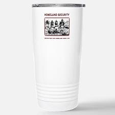 Homeland Security Native Pers Travel Mug