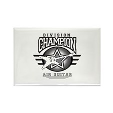 Air Guitar Champion Rectangle Magnet