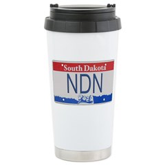 South Dakota NDN Pride Travel Mug
