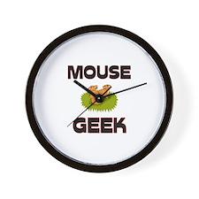 Mouse Geek Wall Clock