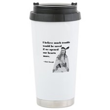 Open Hearts Travel Mug
