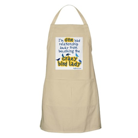 Crazy Bird BBQ Apron