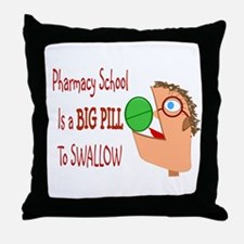 Pharmacy Student Throw Pillow