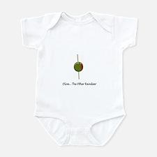 Olive...the other reindeer Infant Bodysuit
